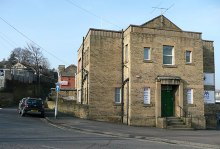 Dewsbury, Gospel Temperance Hall, Willan's Road West Yorkshire © Humphrey Bolton